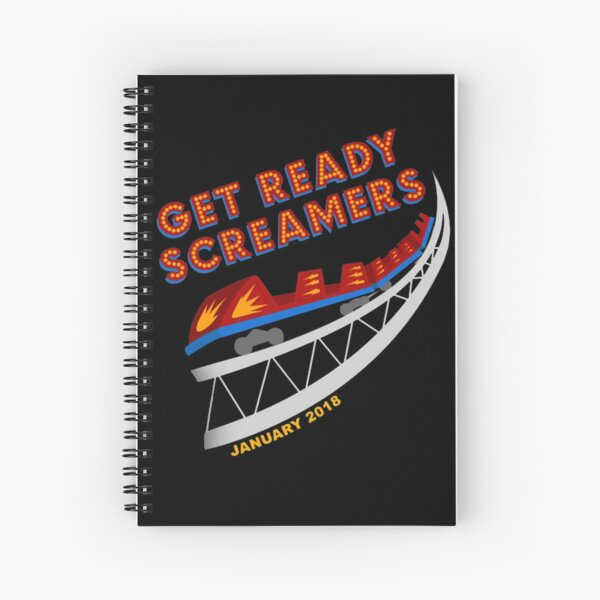 California Screamin' Farewell Spiral Notebook