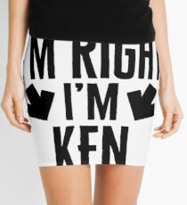 Minifalda I'm Right I'm Ken Sticker & T-Shirt - Gift For Ken