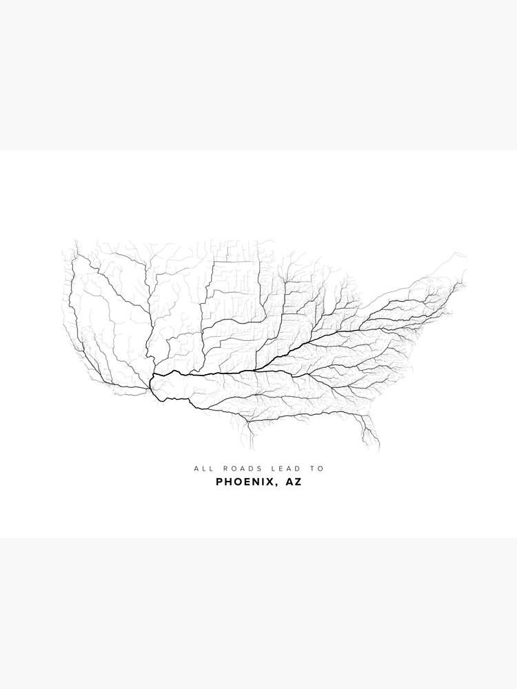 All Roads Lead to Phoenix, AZ by LaarcoStudio