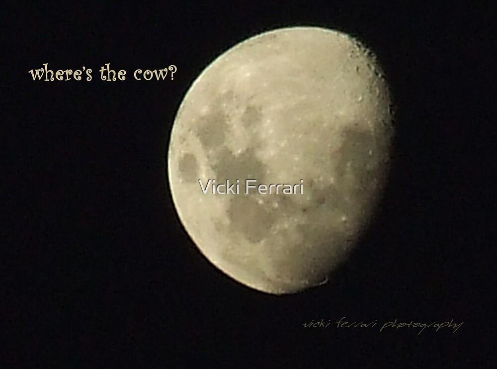 Moon Missing Cow © Vicki Ferrari Photography by Vicki Ferrari