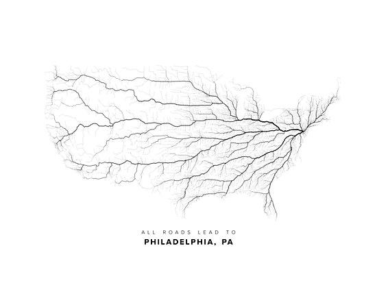 All Roads Lead to Philadelphia by LaarcoStudio