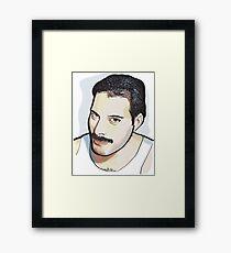 Watercolor Freddie Framed Print