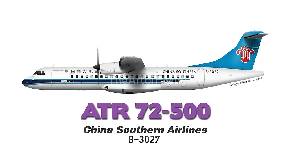 ATR 72-500 - China Southern Airlines by TheArtofFlying
