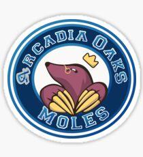 Arcadia Oaks Moles Sticker