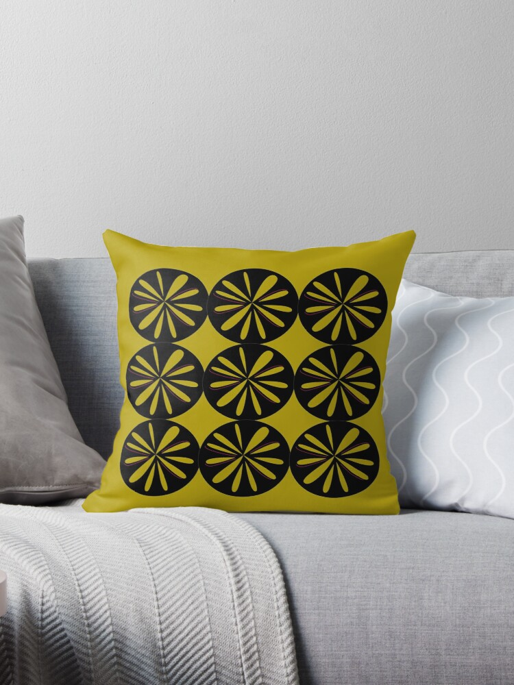 Design Lemons gold black by Bee and Glow Illustrations Shop