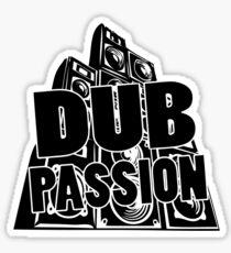 DUB PASSION BLACK Sticker