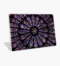 Notre Dame Rose Window Laptop Skin