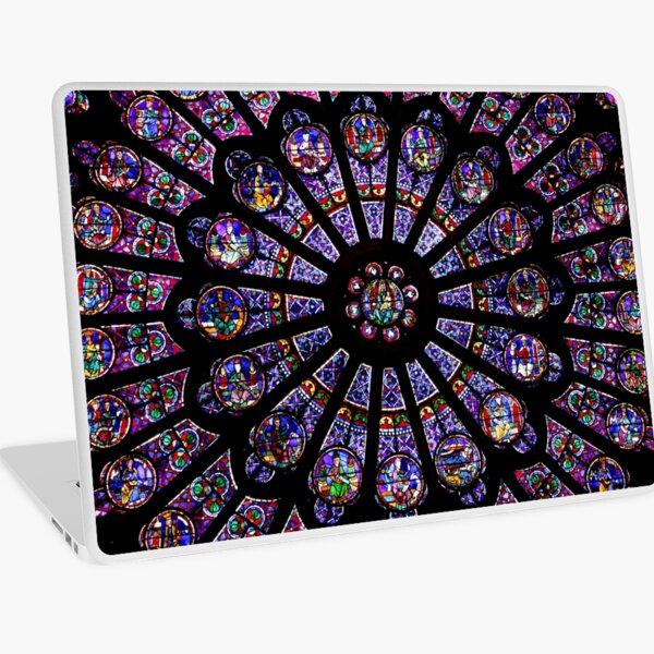 Notre Dame Rose Window Laptop Skin