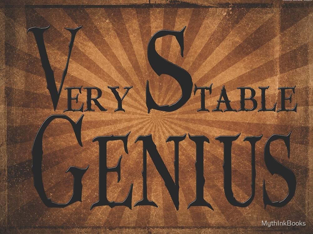 Stable Genius! by MythInkBooks