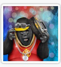 Funky Gorilla Sticker