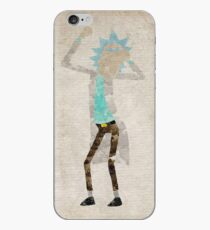 Rick Sanchez (Rick and Morty) watercolour iPhone Case