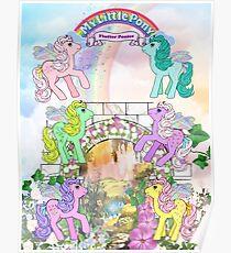 my little pony g1 flutter valley Poster