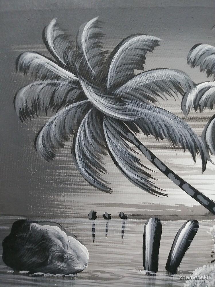 Palm tree by znamenski