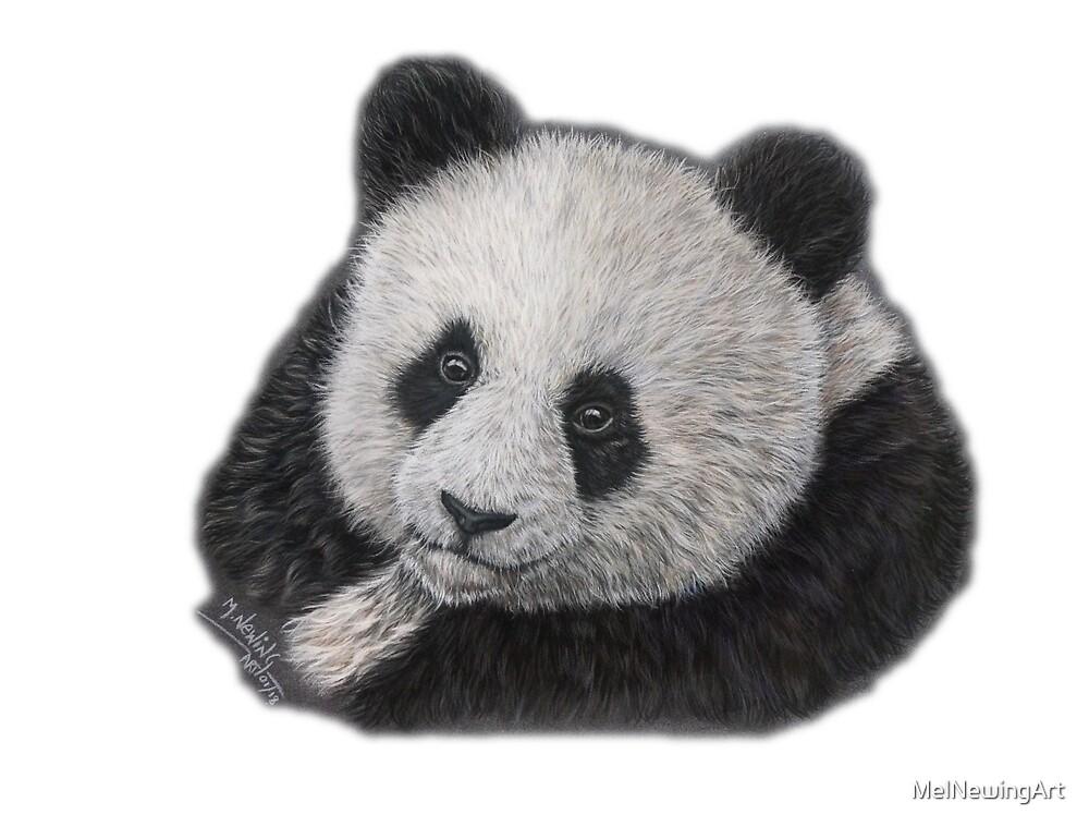 Giant Panda by MelNewingArt