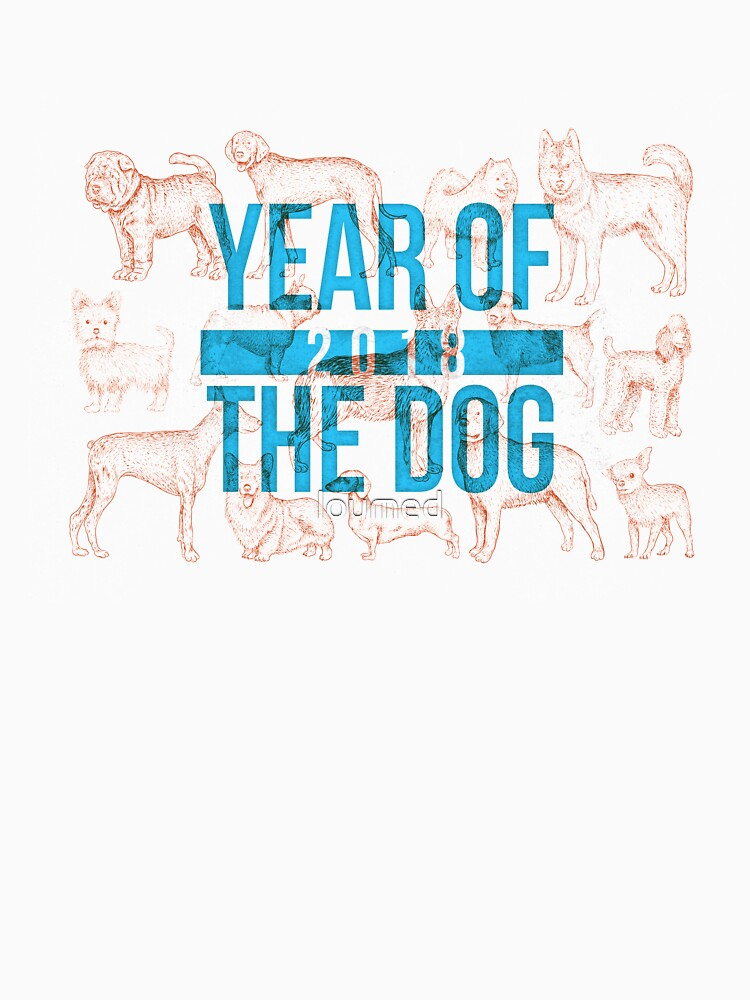 2018 Year Of The Dog Chinese Zodiac Design by loumed