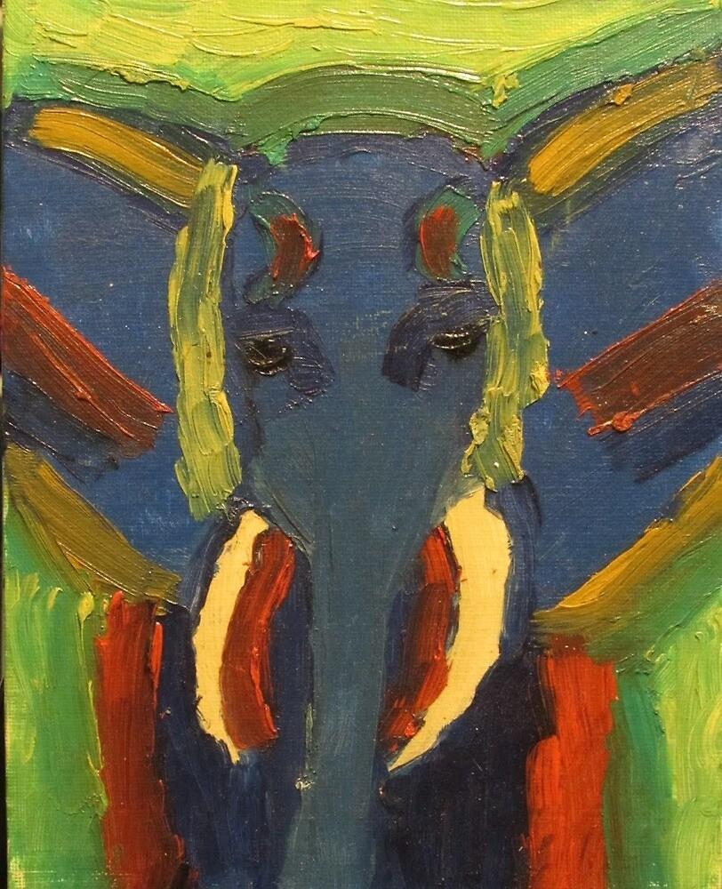 spirit of the elephant by Sophia Cole