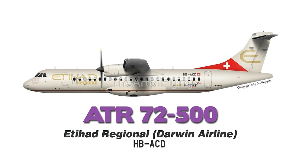 ATR 72-500 - Etihad Regional (Darwin Airline) by TheArtofFlying