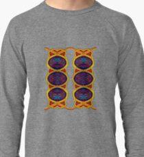 Ковровый узор балкарского или карачаевского   войлочного ковра - Carpet pattern of the Balkarian   or Karachai felt carpet. Lightweight Sweatshirt