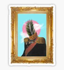 PALM MAN (Framed). Sticker