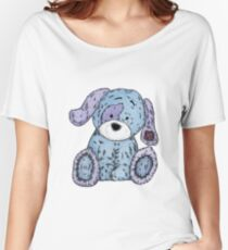 Cuddly Dog Women's Relaxed Fit T-Shirt