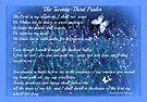 The Twenty Third Psalm by Sherri Nicholas by SherriOfPalmSprings Sherri Nicholas-