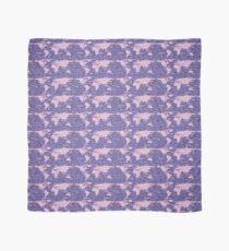Hallo Weltsprachen Violet Lavender Tuch