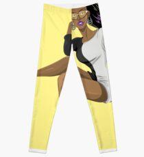 African-American Woman Leggings