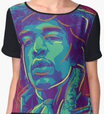 Pop Jimi Hendrix Chiffon Top