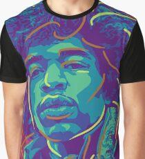 Pop Jimi Hendrix Graphic T-Shirt