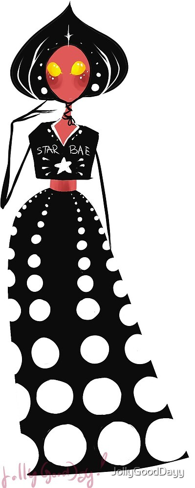 fashion flatwoods monster by JollyGoodDayy