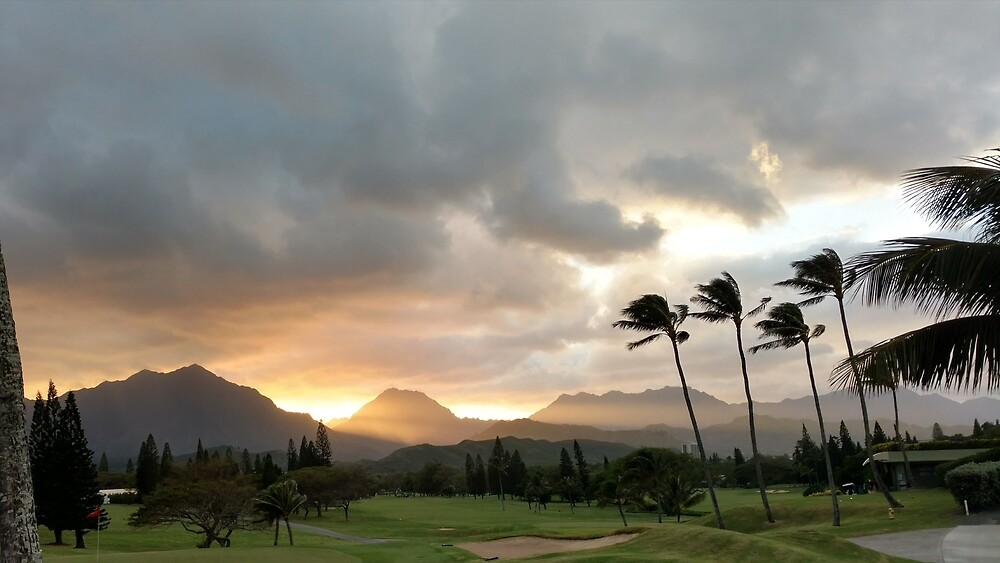 Mountain Sunset by YugoSelo