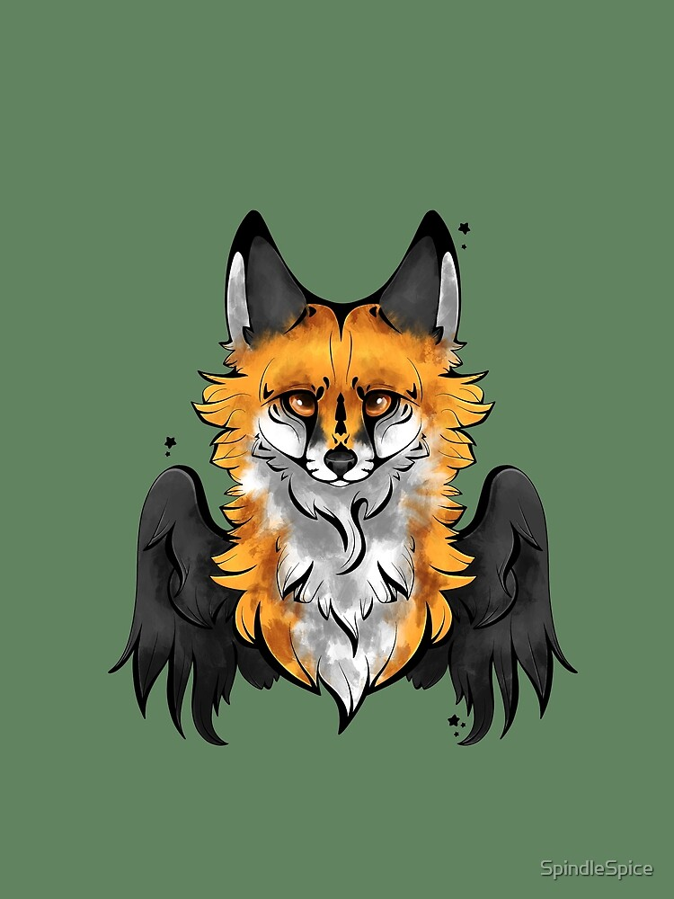 Red Angel Fox by SpindleSpice