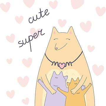 Cute super mom by catsandstars