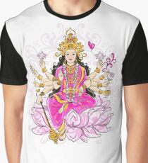 Indian goddess Shakti, sketch  Graphic T-Shirt