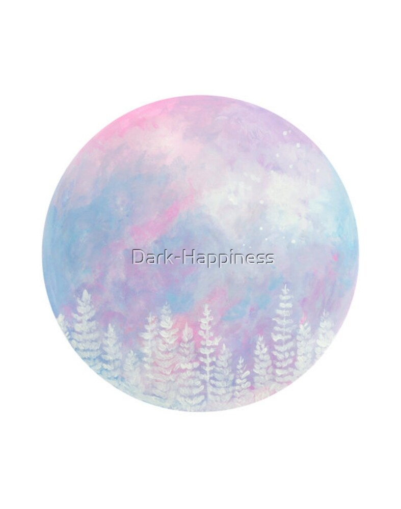 Pastel forest by Dark-Happiness