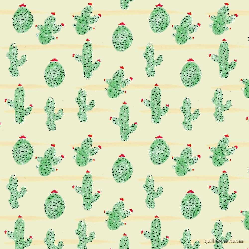 cactus pattern by mantrapop