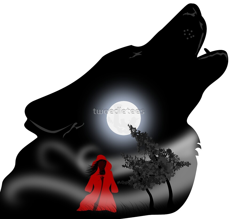 Red and Wolf by tweedletees