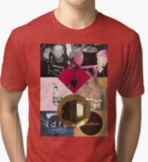 blackbear album cover collage Tri-blend T-Shirt