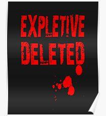 Expletive Deleted Poster