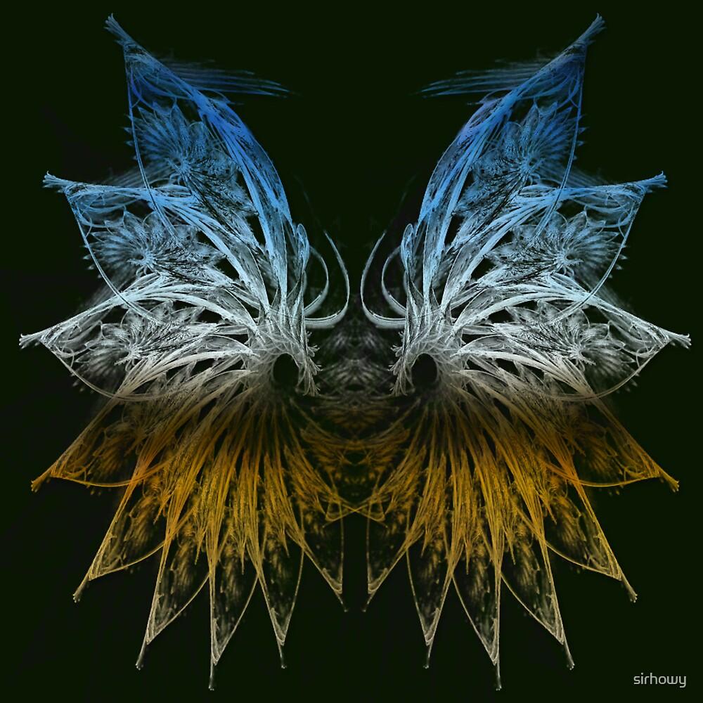 Fairy Wings Fractal by sirhowy