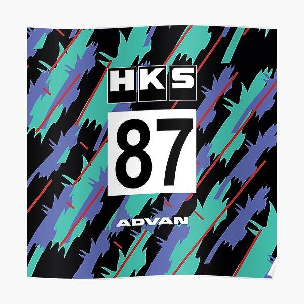 HKS # 87 GT-R R32 JDM Poster