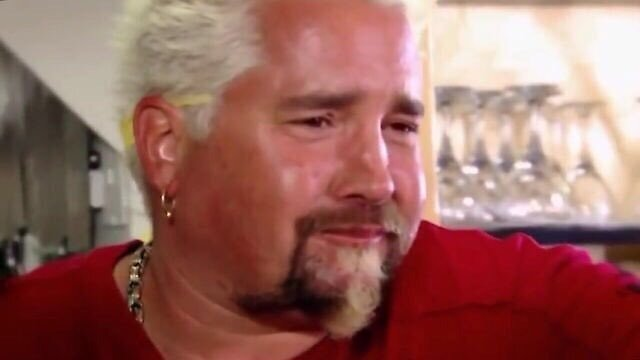 Regretful Guy Fieri by bartzlaura