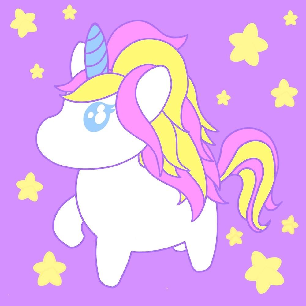 Starry Unicorn by Spillywolf
