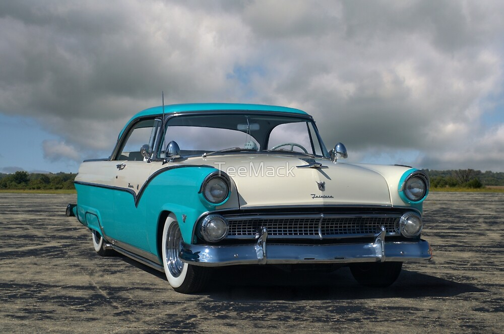 1955 Ford Fairlane Victoria by TeeMack