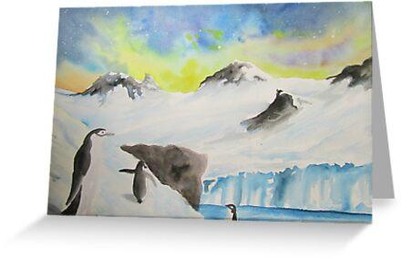 Cosmic Penguins by cjwaterfield