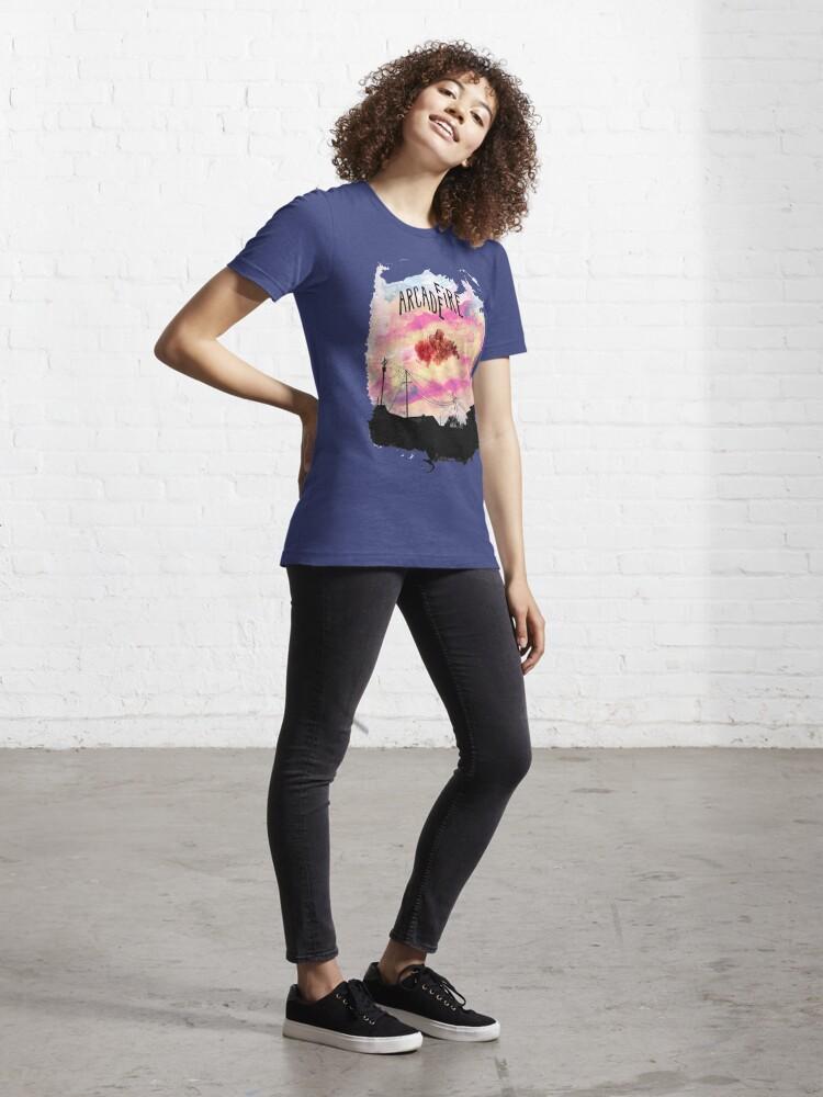 Alternate view of Arcade Fire Suburbs Essential T-Shirt