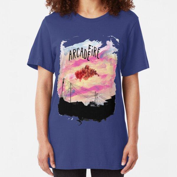 Arcade Fire Suburbs Slim Fit T-Shirt