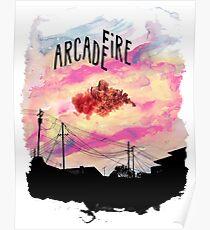Arcade Fire Suburbs Poster