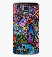 """""""Blue Candy Gloom"""" Case/Skin for Samsung Galaxy"""