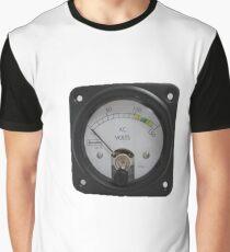 Ancient Voltmeter Graphic T-Shirt